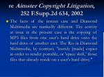 re aimster copyright litigation 252 f supp 2d 634 2002