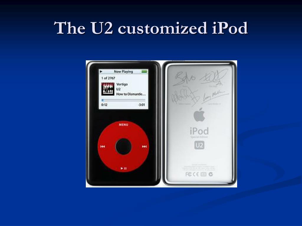 The U2 customized iPod