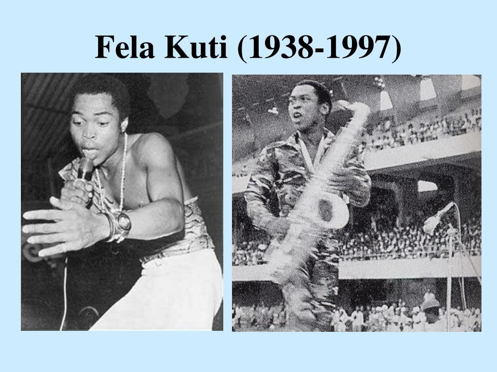 Fela Kuti (1938-1997)
