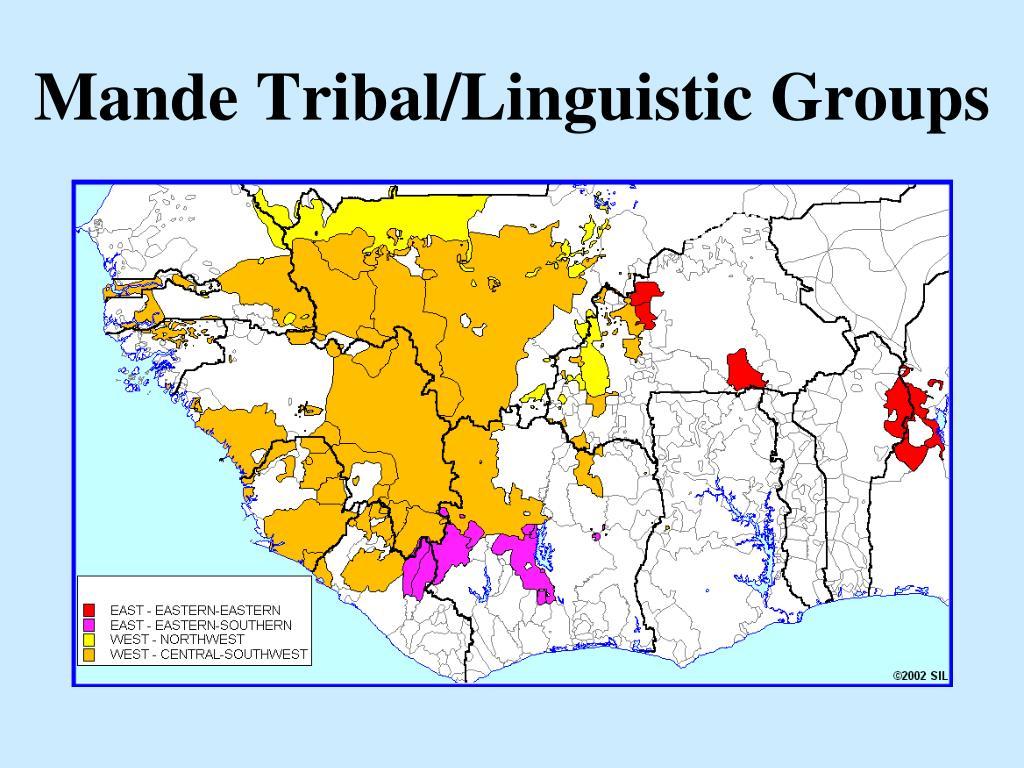 Mande Tribal/Linguistic Groups
