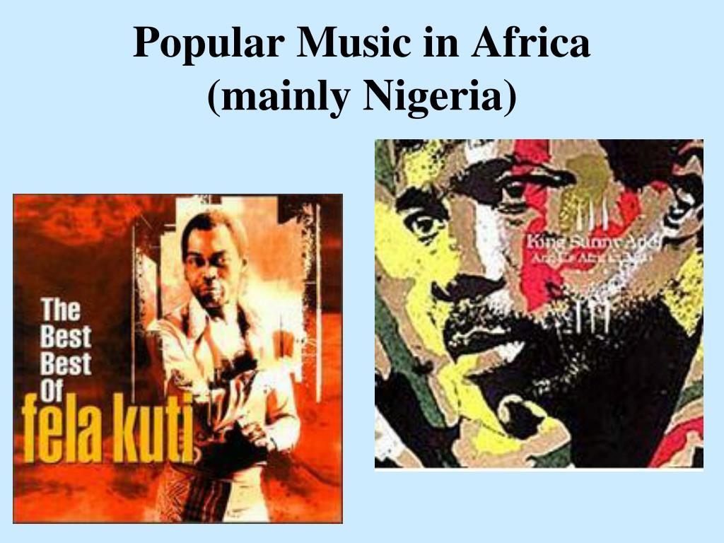 Popular Music in Africa