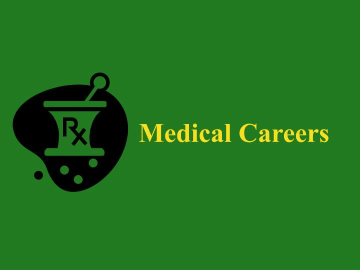 Medical Careers