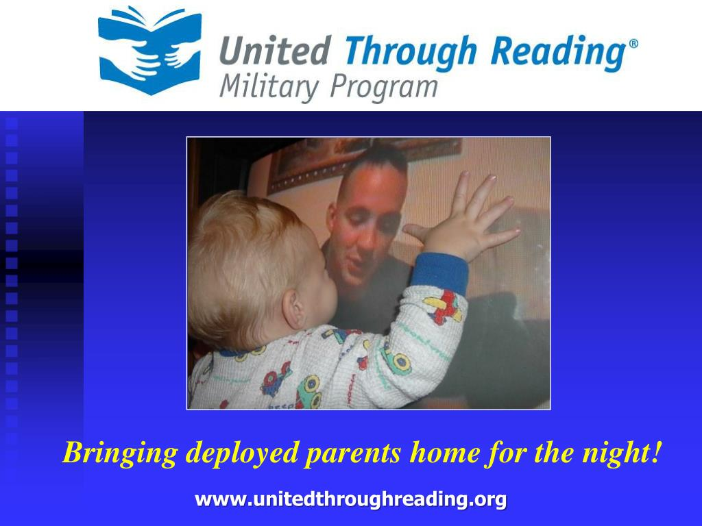 Bringing deployed parents home for the night!