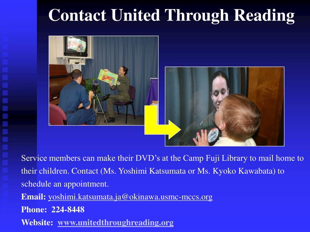 Contact United Through Reading