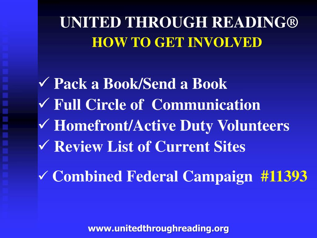 UNITED THROUGH READING®