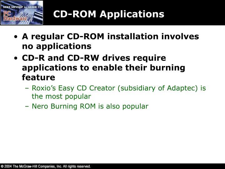 CD-ROM Applications