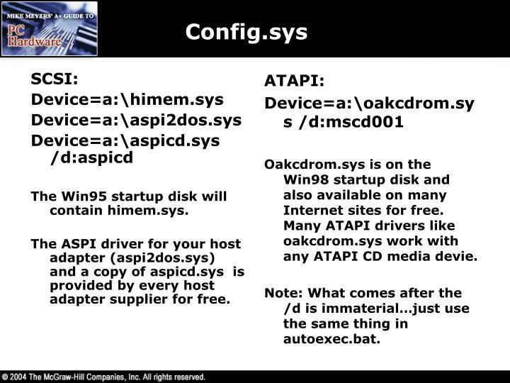 SCSI: