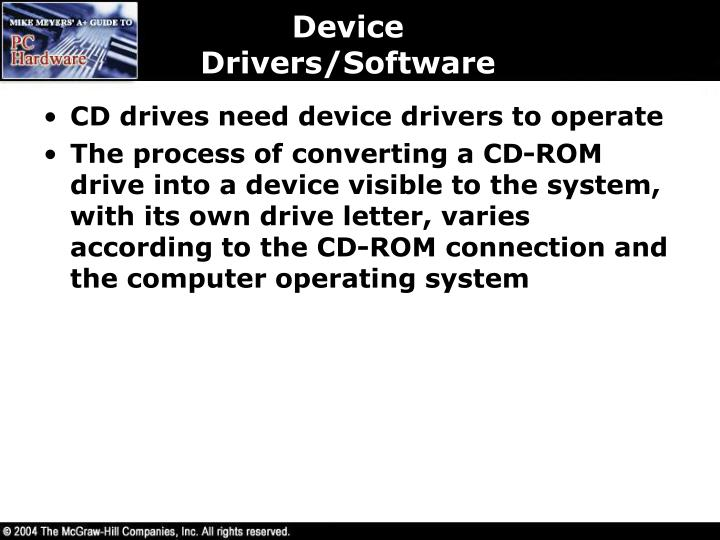 Device Drivers/Software