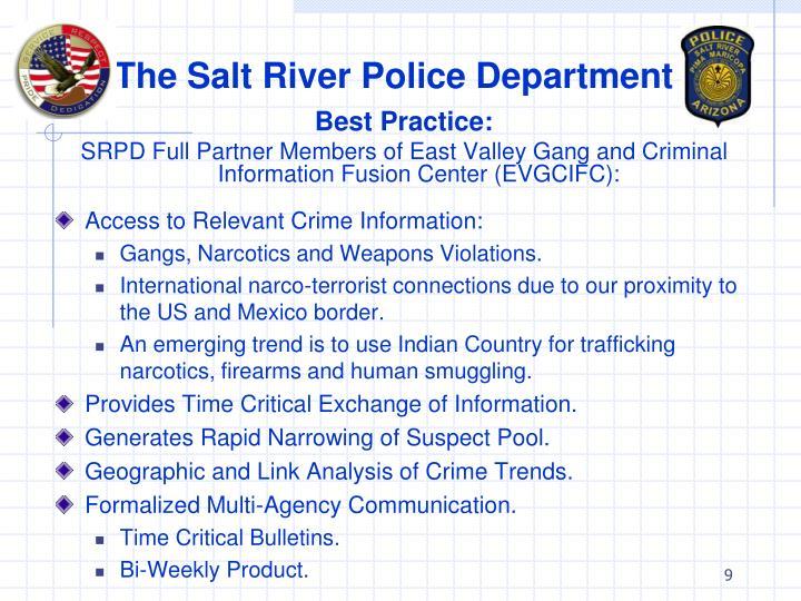 The Salt River Police Department