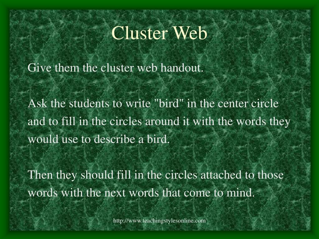 Cluster Web