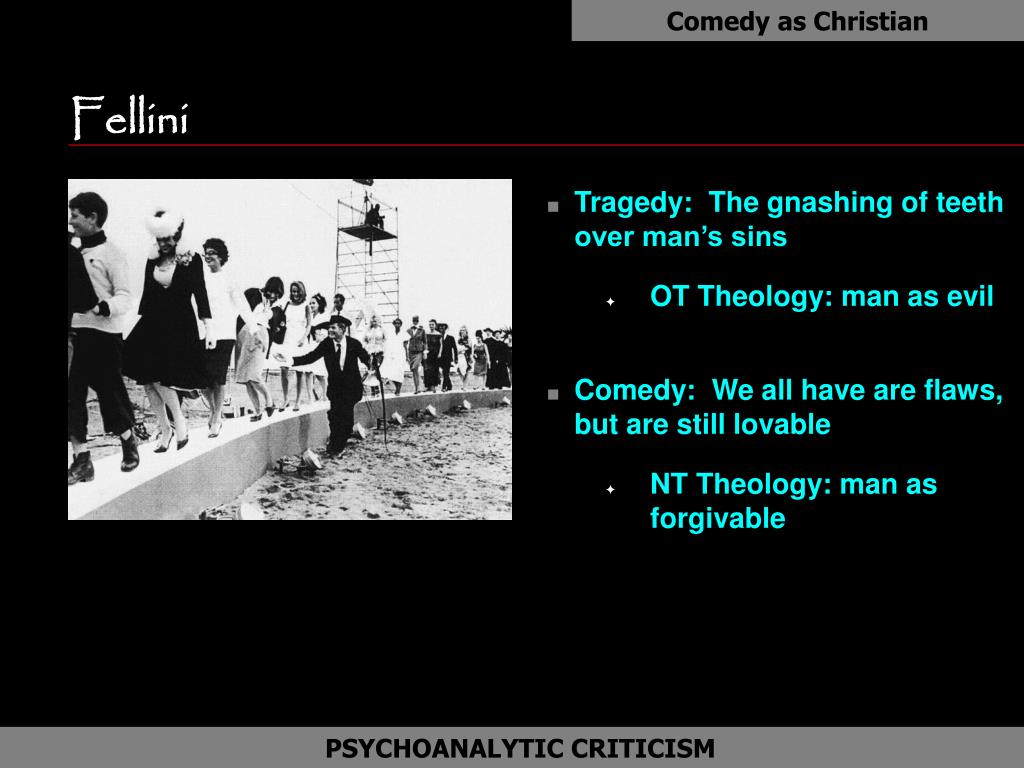 Comedy as Christian