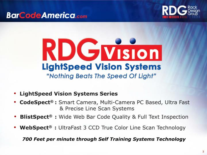 LightSpeed Vision Systems Series