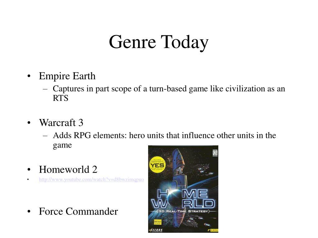 Genre Today