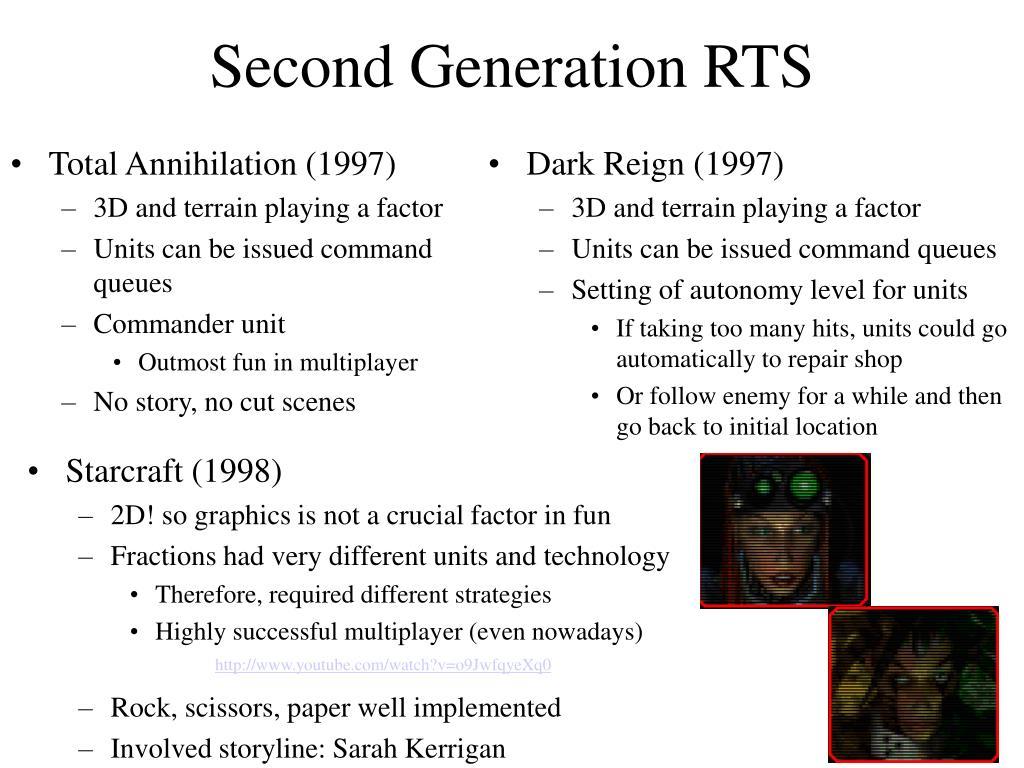 Second Generation RTS