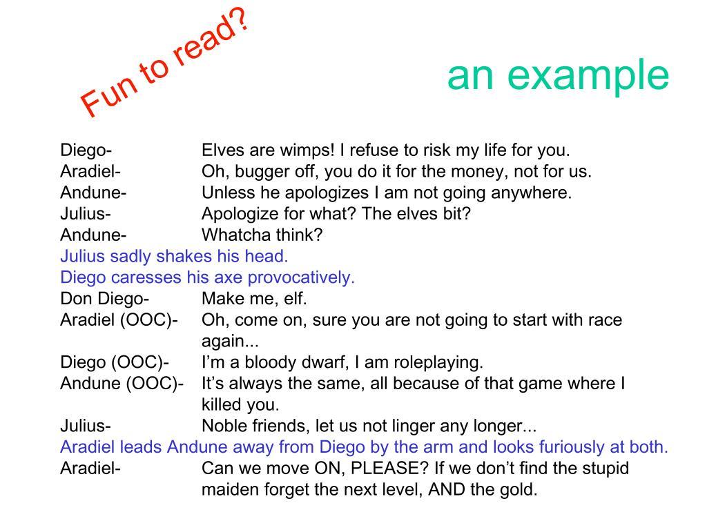 Fun to read?