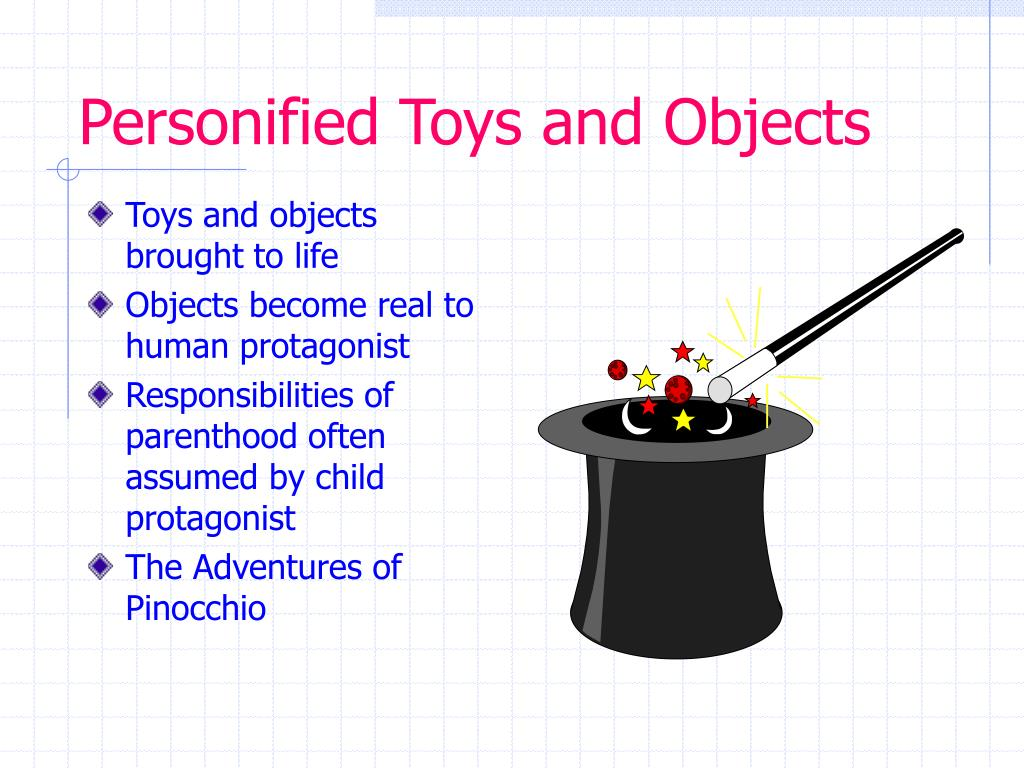 Personified Toys and Objects
