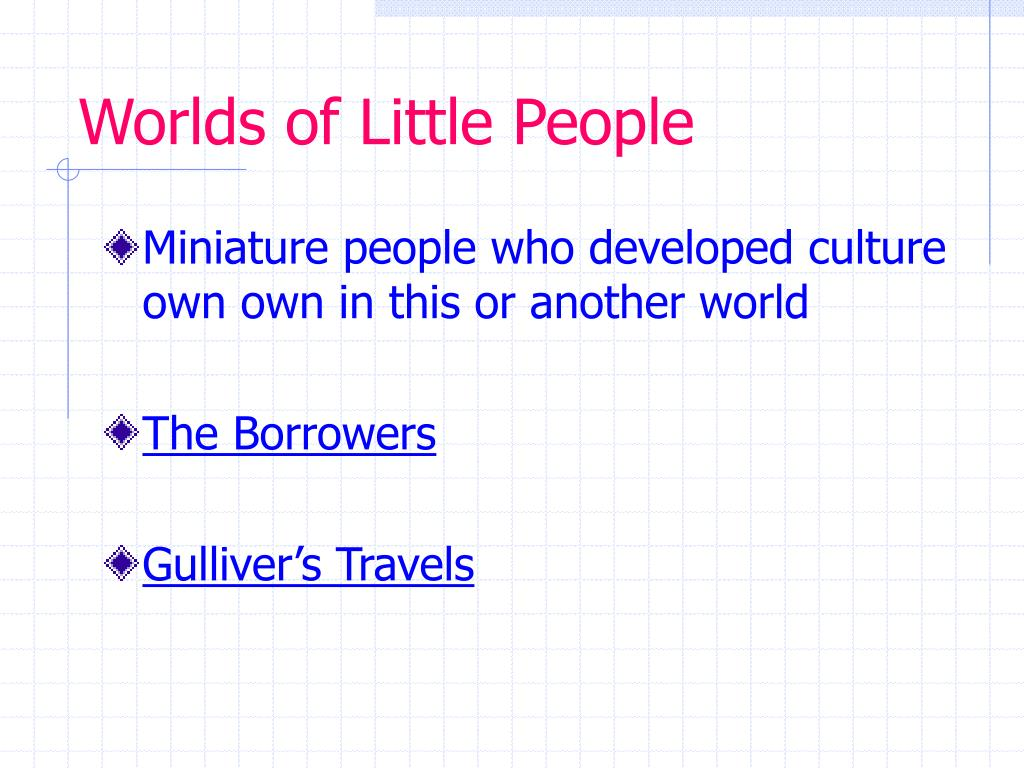 Worlds of Little People