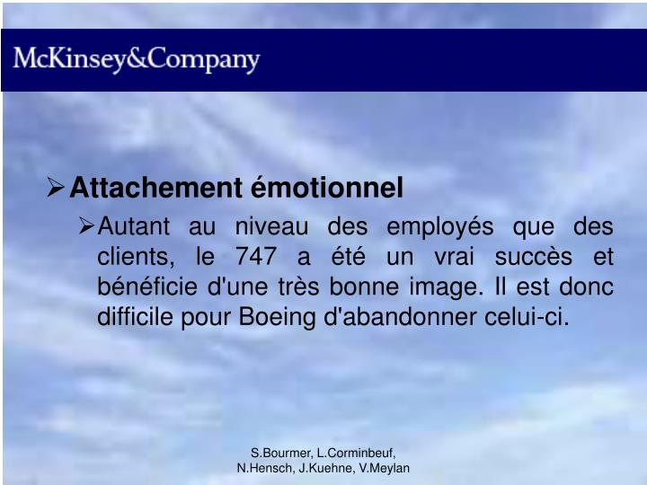 Attachement émotionnel