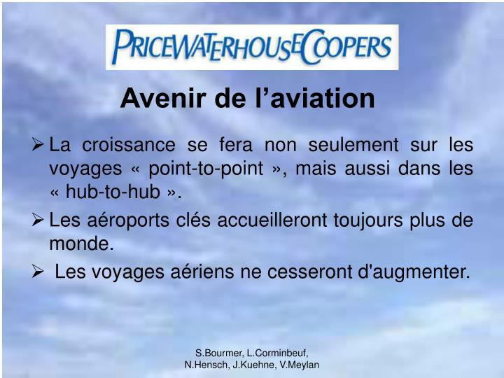 Avenir de l'aviation