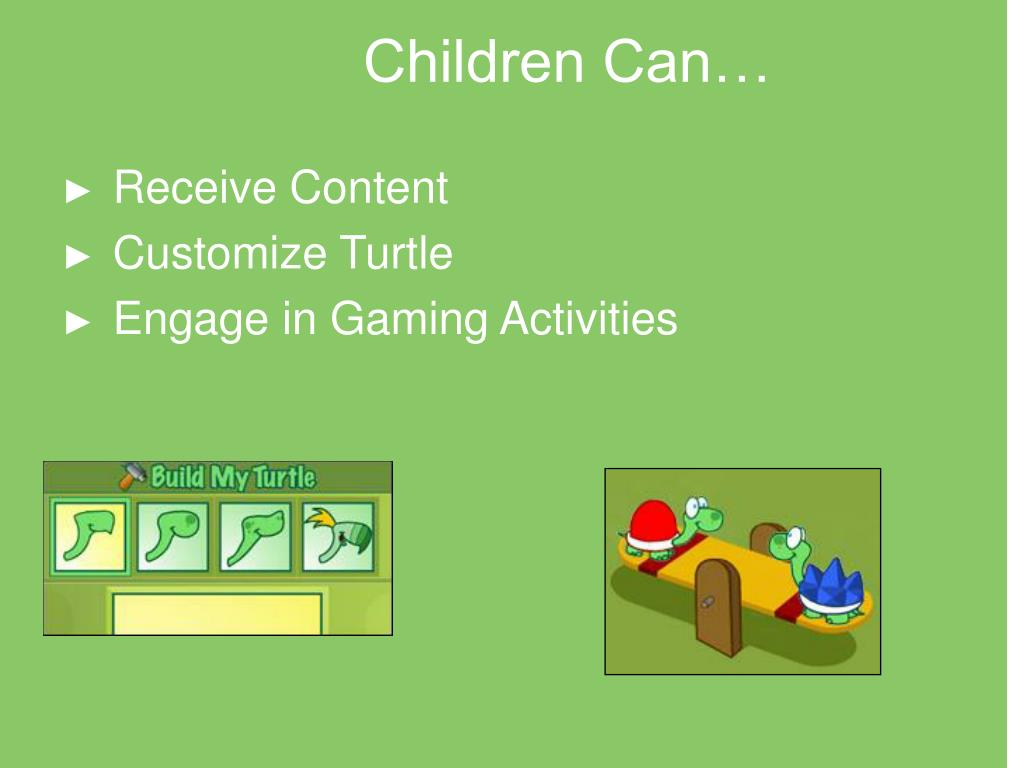 Children Can…