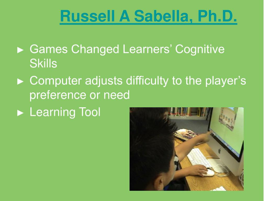 Russell A Sabella, Ph.D.