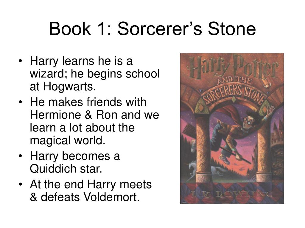 Book 1: Sorcerer's Stone