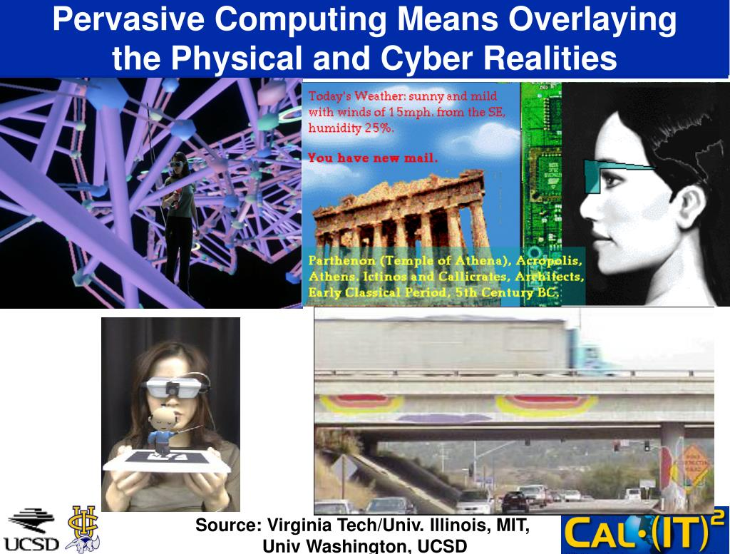 Pervasive Computing Means Overlaying