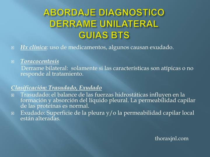 ABORDAJE DIAGNOSTICO