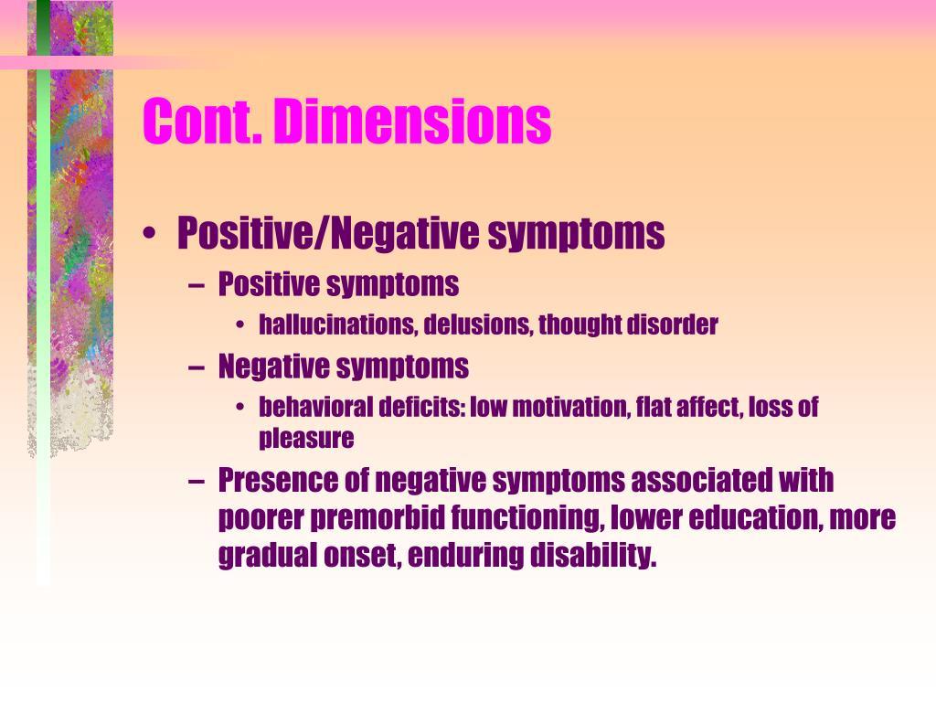 Cont. Dimensions
