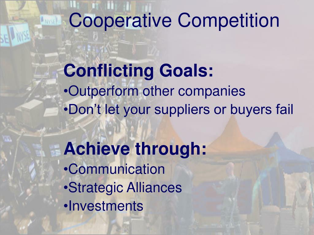 Cooperative Competition