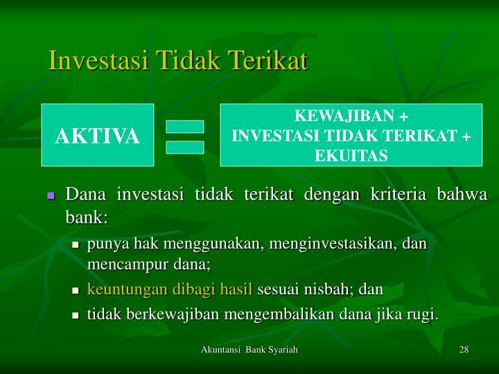 Investasi Tidak Terikat
