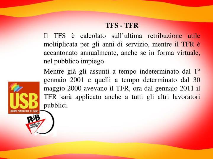 TFS - TFR