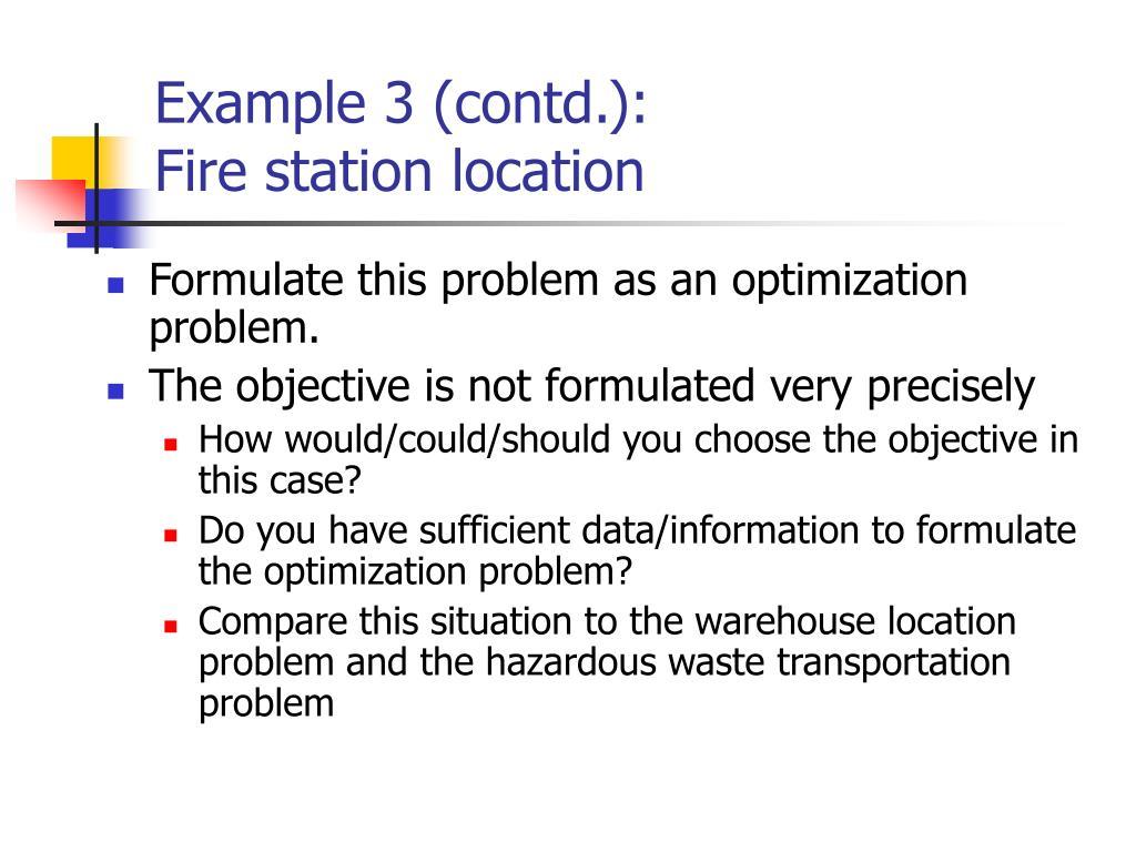 Example 3 (contd.):