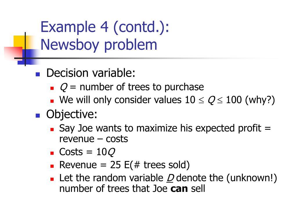 Example 4 (contd.):