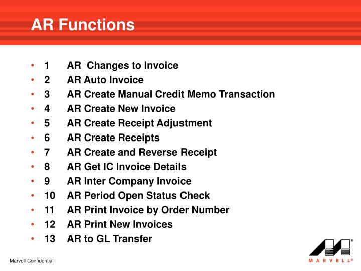AR Functions