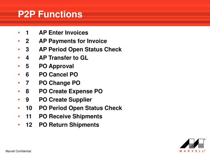 P2P Functions