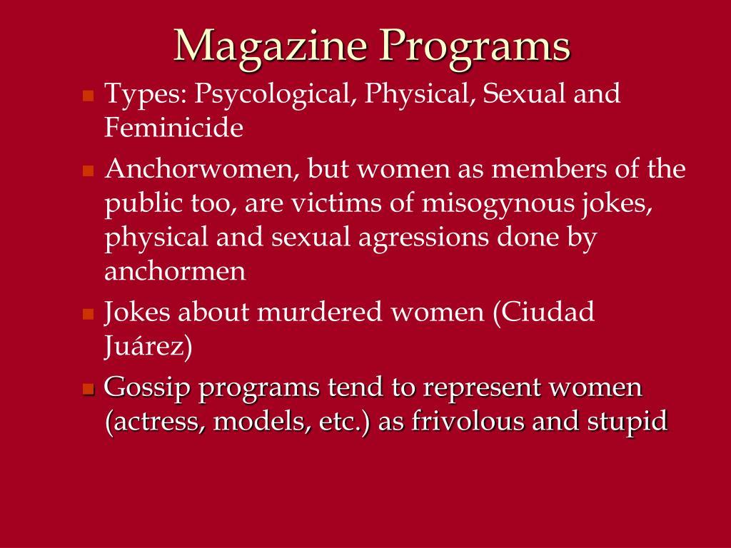 Magazine Programs