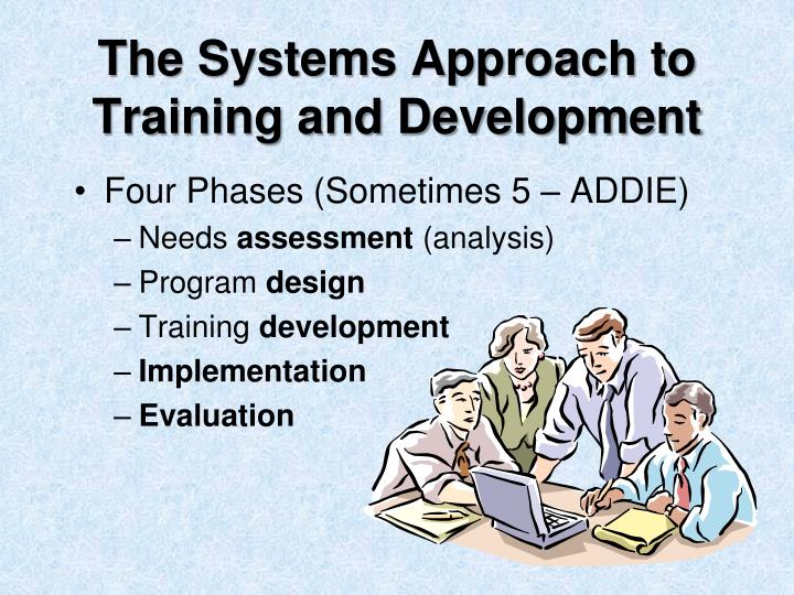 The Systems Approach to Training and Development