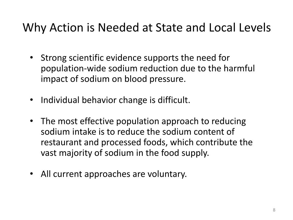 Why Action is Needed at State and Local Levels