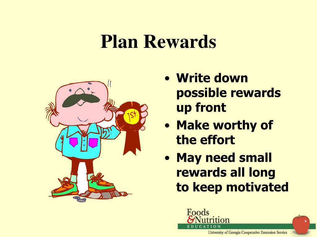Plan Rewards