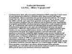 codice dell ambiente s s p a l milano 14 giugno 200738