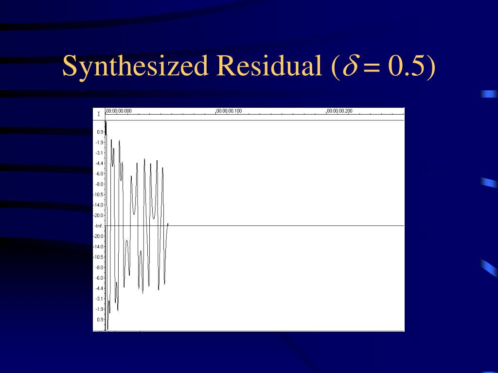 Synthesized Residual (
