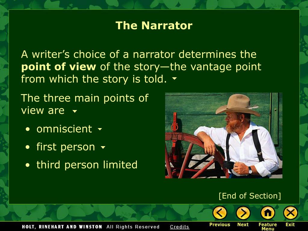 The Narrator
