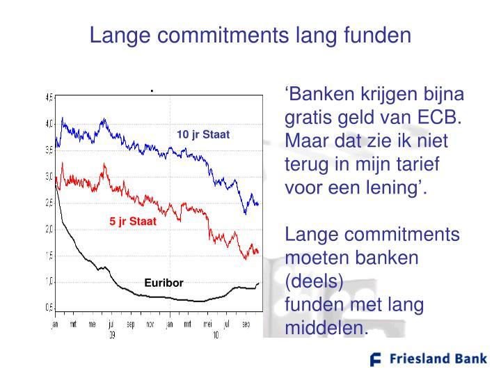 Lange commitments lang funden