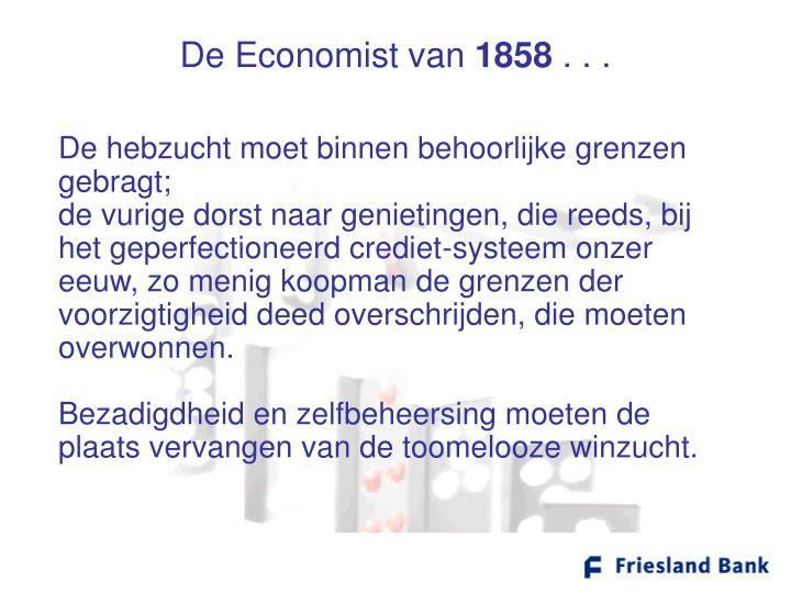 De Economist van