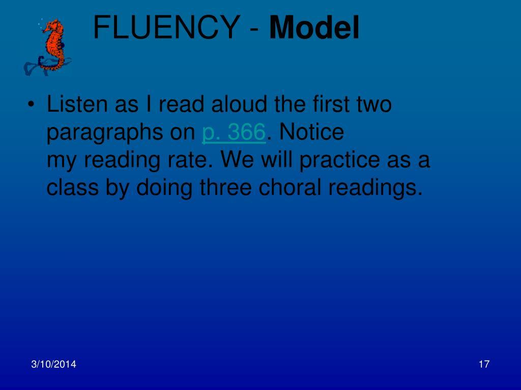 FLUENCY -