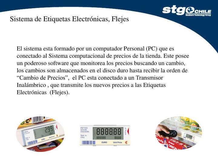 Sistema de Etiquetas Electrónicas, Flejes
