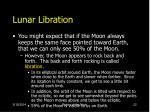 lunar libration