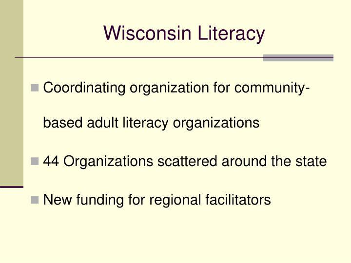 Wisconsin Literacy