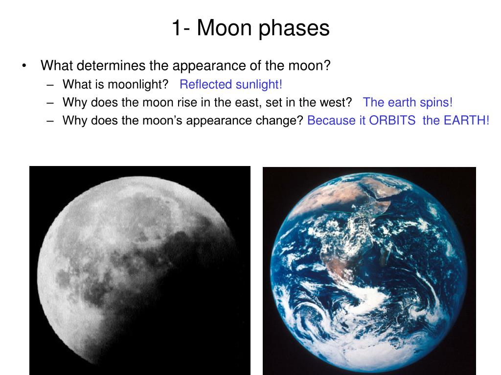 1- Moon phases